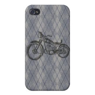 Vintage Motorcycle iPhone 4 Cases