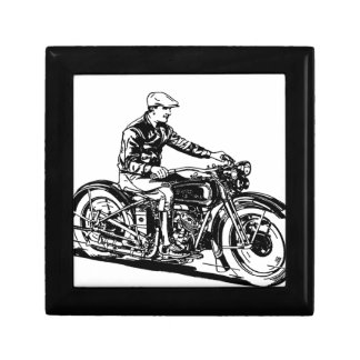 Vintage Motorcycle Jewelry Box
