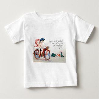 Vintage Motorcycle Kids Tee Shirt