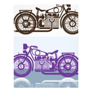 Vintage Motorcycle Letterhead