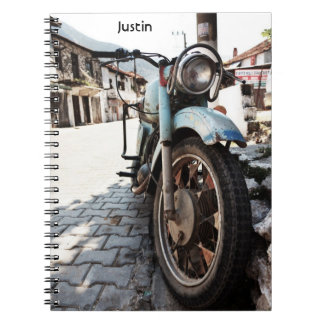 Vintage Motorcycle Notebook