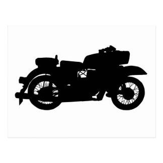 Vintage Motorcycle Post Card