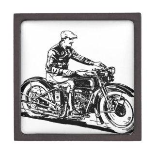 Vintage Motorcycle Premium Jewelry Box