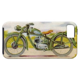 Vintage Motorcycle Print iPhone SE/5/5s Case