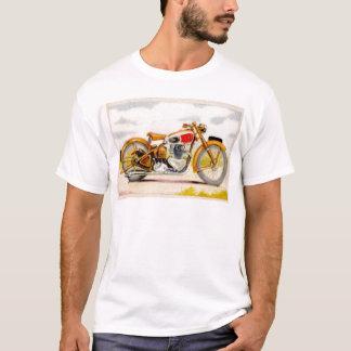 Vintage Motorcycle Print T-Shirt