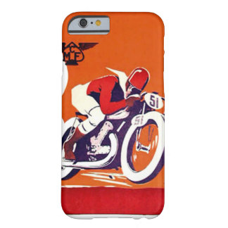 Vintage Motorcycle Race Barely There iPhone 6 Case