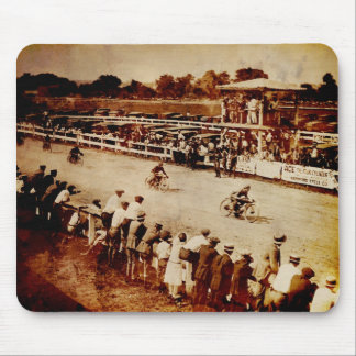 Vintage Motorcycle Race Mouse Pad