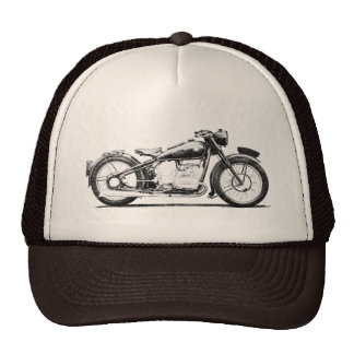 Vintage motorcycle shirts - 1936 BMW 500 Trucker Hat