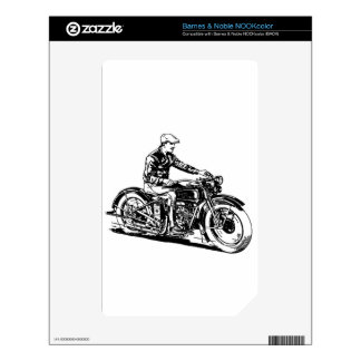 Vintage Motorcycle Skin For The NOOK Color