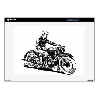 Vintage Motorcycle Skins For Laptops