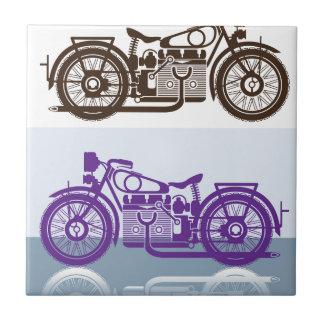 Vintage Motorcycle Tile
