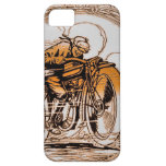 Vintage Motorcycle Traveler iPhone 5 Cases