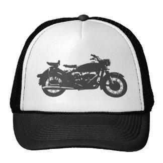 Vintage Motorcycle Trucker Hat