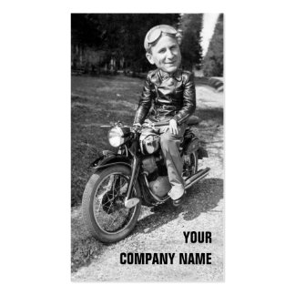 Vintage Motorcycles Double-Sided Standard Business Cards (Pack Of 100)