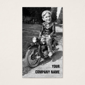 Vintage Motorcycles Business Card