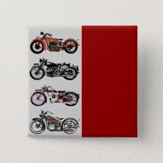 VINTAGE MOTORCYCLES BUTTON