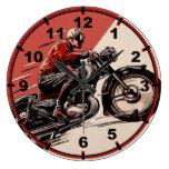 Vintage Motorcycles Clocks