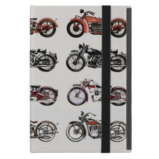 VINTAGE MOTORCYCLES COVER FOR iPad MINI
