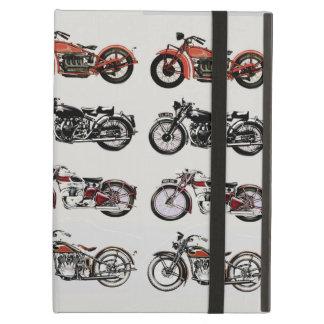 VINTAGE MOTORCYCLES iPad AIR COVERS