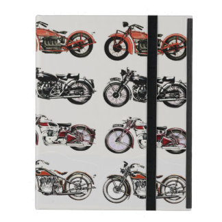 VINTAGE MOTORCYCLES iPad COVER