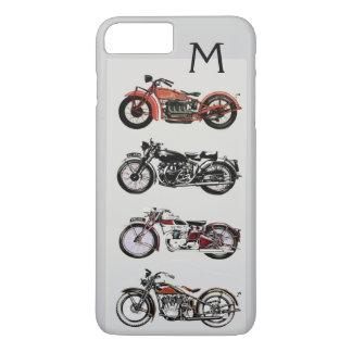 VINTAGE MOTORCYCLES MONOGRAM iPhone 8 PLUS/7 PLUS CASE