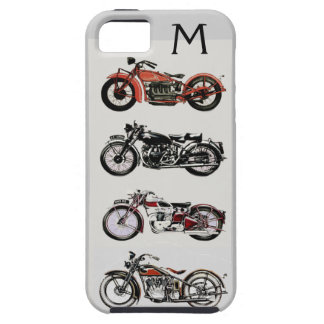 VINTAGE MOTORCYCLES MONOGRAM iPhone SE/5/5s CASE