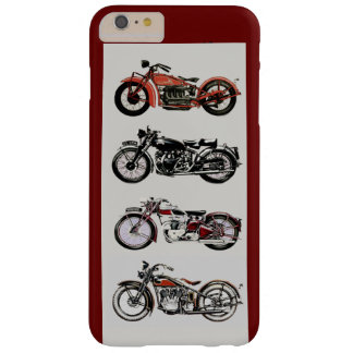 VINTAGE MOTORCYCLES ,Red Barely There iPhone 6 Plus Case