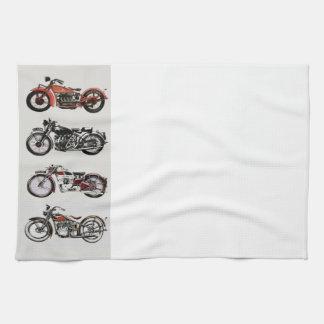 VINTAGE MOTORCYCLES TOWEL