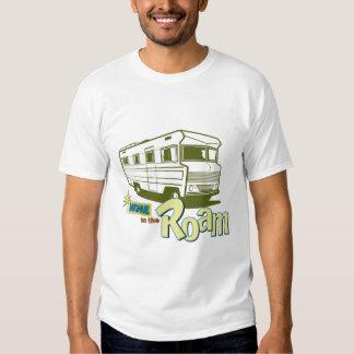 Vintage Motorhome camping T Shirt