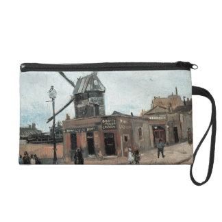Vintage Moulin de la Galette Paris Wristlet