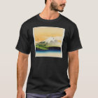Vintage Mount Fuji Japanese Woodblock Print T-Shirt