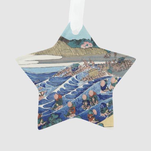 Vintage Mount Fuji Painting