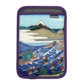 Vintage Mount Fuji Painting iPad Mini Sleeves
