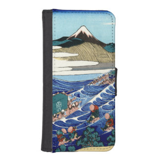 Vintage Mount Fuji Painting iPhone SE/5/5s Wallet Case
