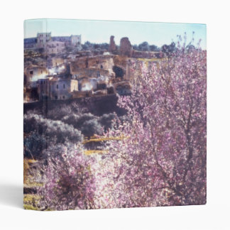 Vintage Mount Of Olives Jerusalem Israel 1950 - 77 Binder