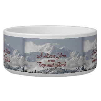 Vintage Mountains: I Love You to the Top and Back Bowl