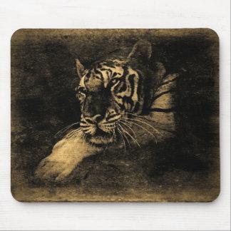 Vintage Mousepad del tigre Alfombrilla De Raton