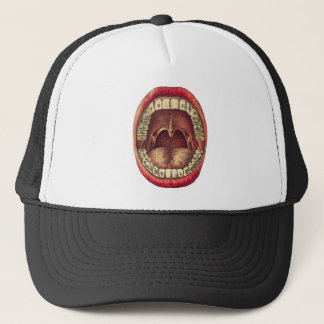 Vintage Mouth Trucker Hat