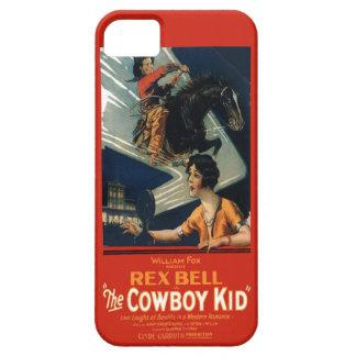 Vintage Movie Advertisement Rex Bell Cowboy Kid iPhone SE/5/5s Case
