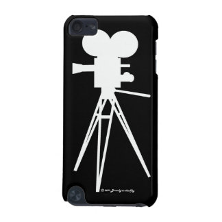 Vintage Movie Camera Silhouette iTouch Cover