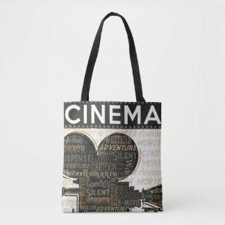 Vintage Movie Camera Tote Bag