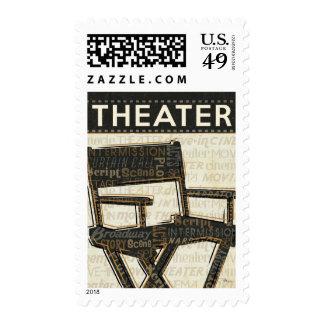 Vintage Movie Chair Postage
