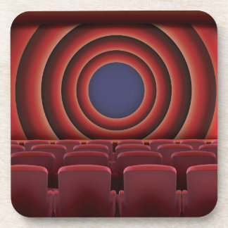 Vintage Movie Cinema Theatre Coaster