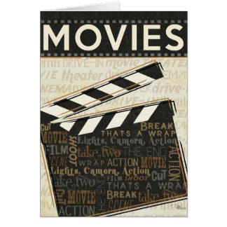 Vintage Movie Clapper Card