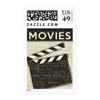 Vintage Movie Clapper Postage