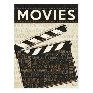 Vintage Movie Clapper Postcards