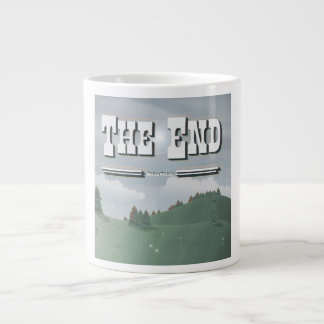 Vintage Movie Credit Large Coffee Mug