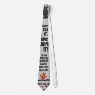 Vintage movie horror - neck tie