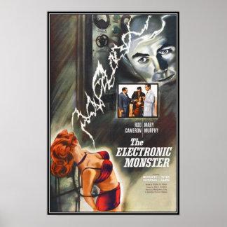 Vintage movie horror - posters