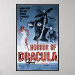 Vintage movie horror - print